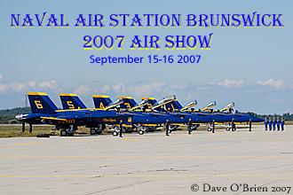 Naval Air Station Brunswick 2007 Air Show
