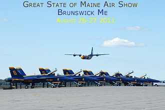 Great State of Maine Air show, Brunswick ME 2011