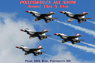2011 Portsmouth Air Show at Pease International Airport