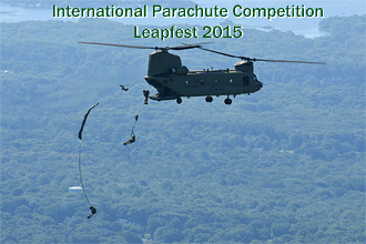 2015 Leapfest International Parachute Competition