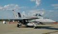 F-18 CAG ship parked